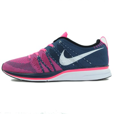 70cdc02efe52 Nike Flyknit Trainer In Squadron Blue White-Pink Flash – NICHE1080.