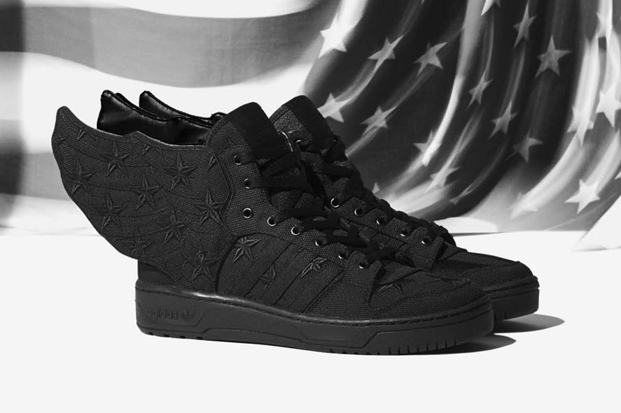 A AP Rocky x Adidas by Jeremy Scott BLACK FLAG JS WINGS 2.0 – NICHE1080. b979de0b2