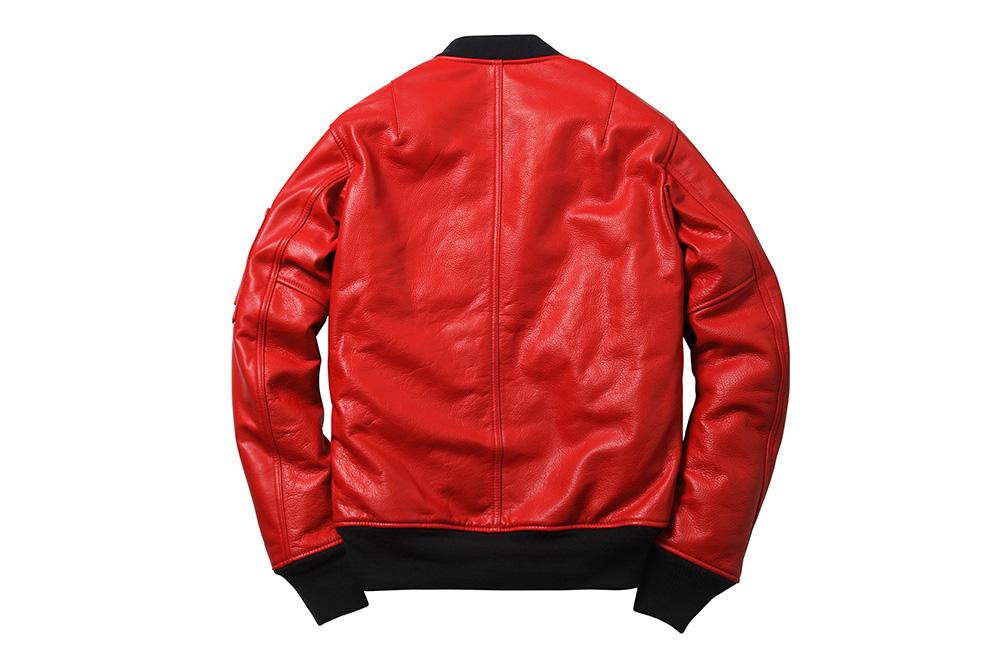 Leather Bomber Jacket Schott