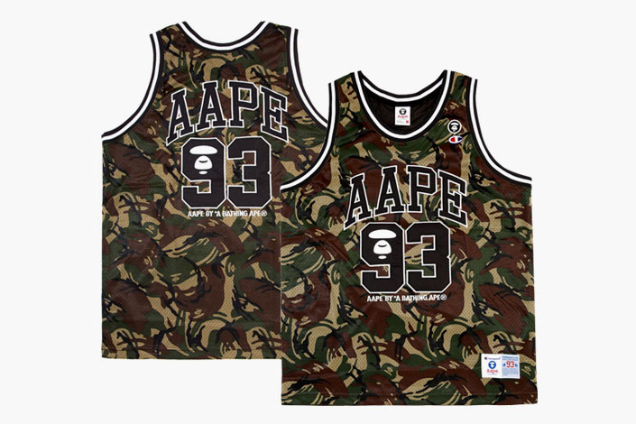 21bda48f2f5 AAPE by A Bathing Ape x Champion Capsule Collection