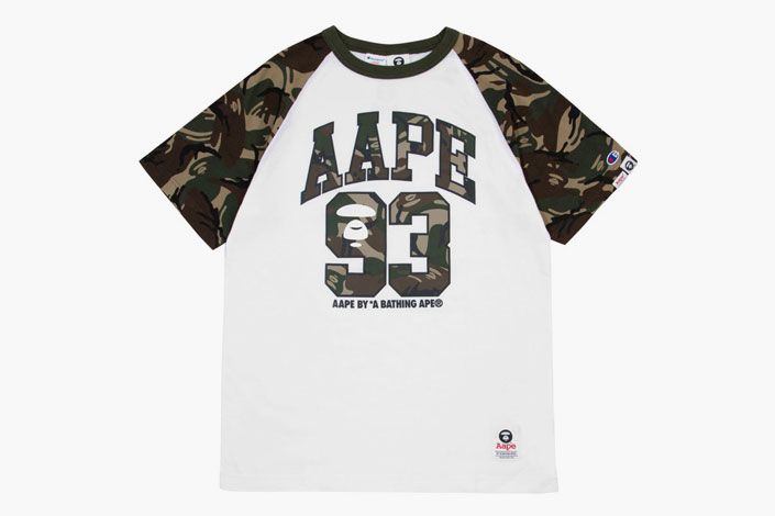 a3e7688435fc AAPE by A Bathing Ape x Champion Capsule Collection – NICHE1080.